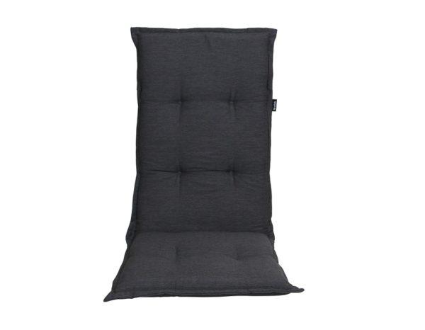 """Подушка на кресло """"Naxos"""", цвет антрацит."""