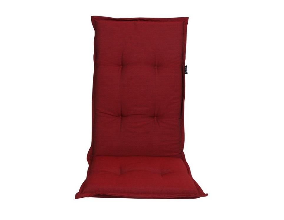 """Подушка на кресло """"Naxos"""", цвет красный."""