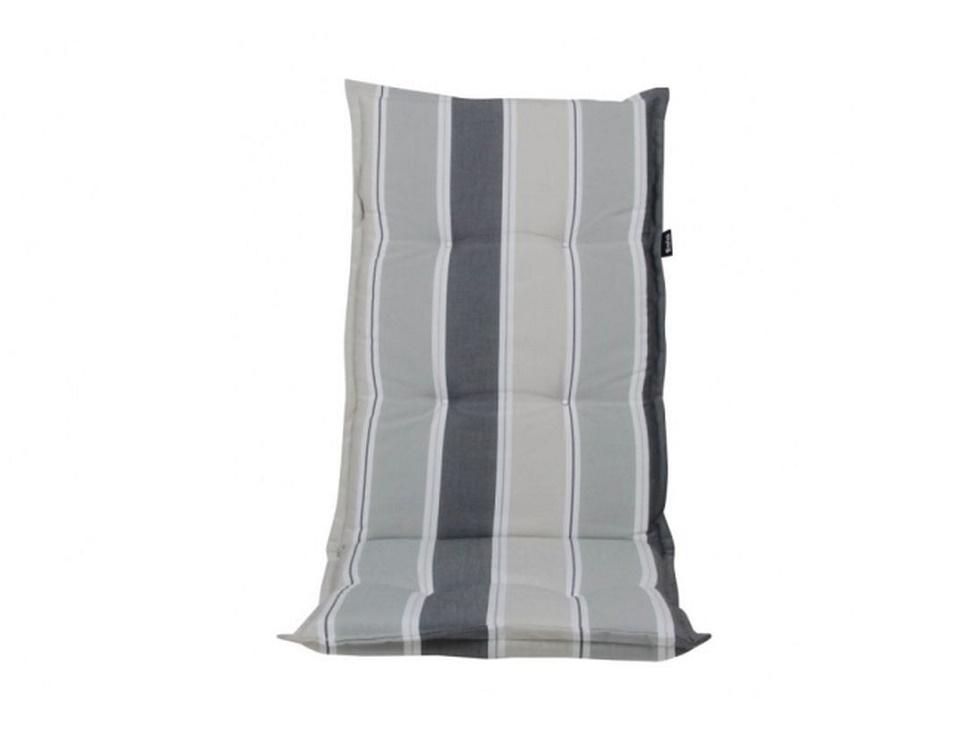 """Подушка на кресло """"Naxos"""", цвет серый в полоску."""
