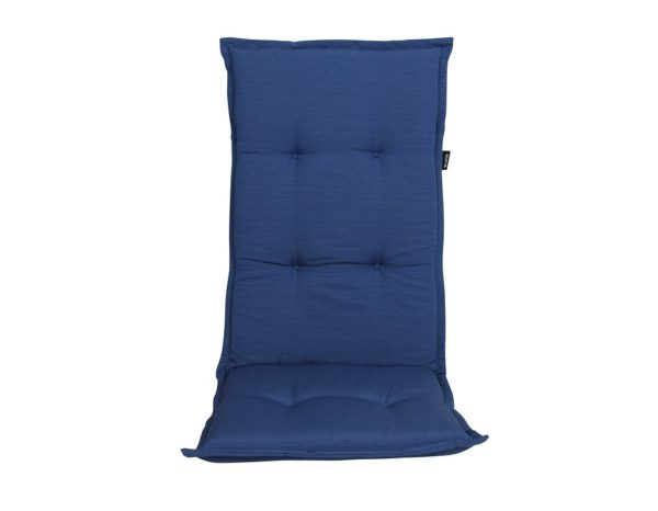 "Подушка на кресло ""Naxos"", цвет синий."