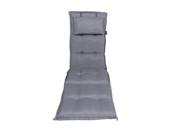 "Подушка на шезлонг ""Naxos"", цвет серый."