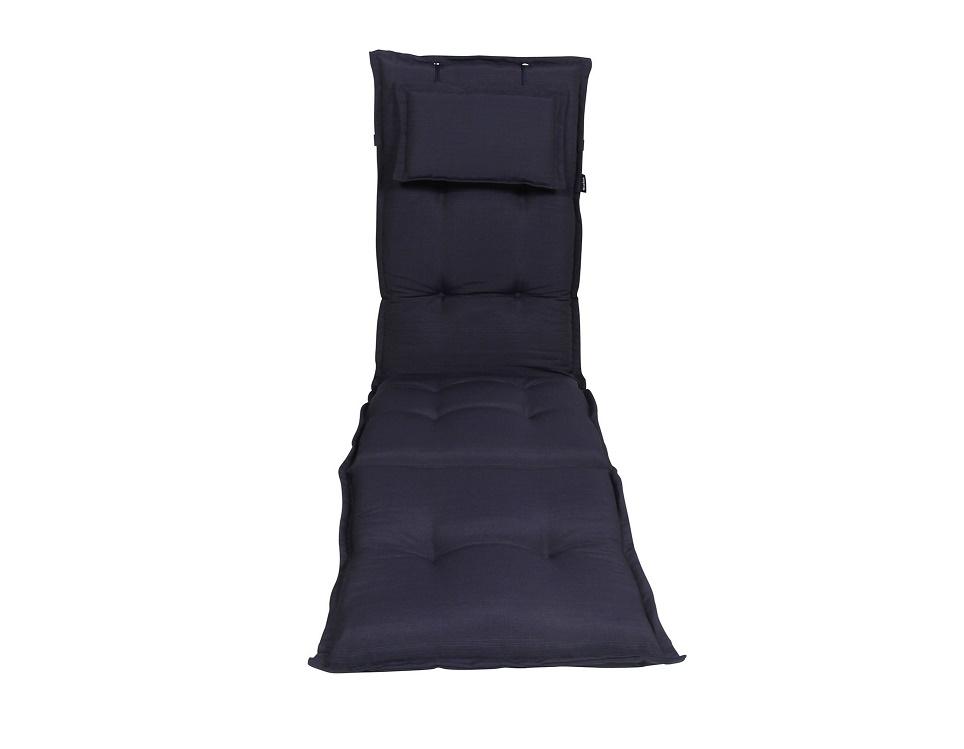 """Подушка на шезлонг """"Naxos"""", цвет темно-синий."""
