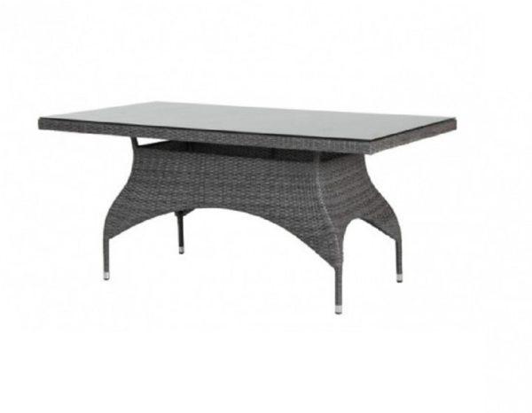 Фото-Стол из ротанга «Ninja grey» 110х65 см Brafab