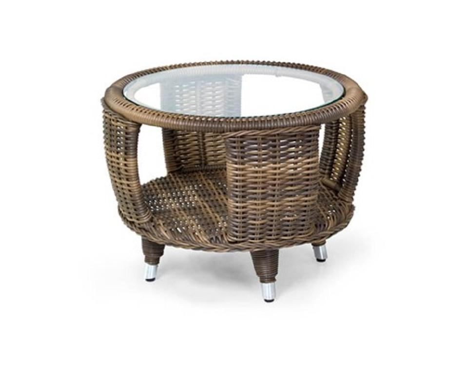 "Стол ""Evita mix"" диаметр 60 см, цвет натур. микс"