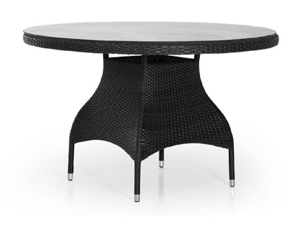 """Стол """"Ninja black"""" диаметр 120 см, цвет черный"""