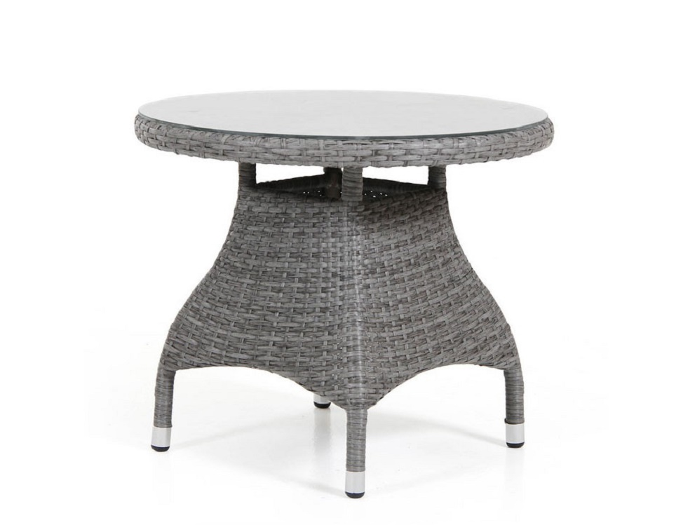 "Стол ""Ninja grey"" диаметр 60 см, цвет серый"