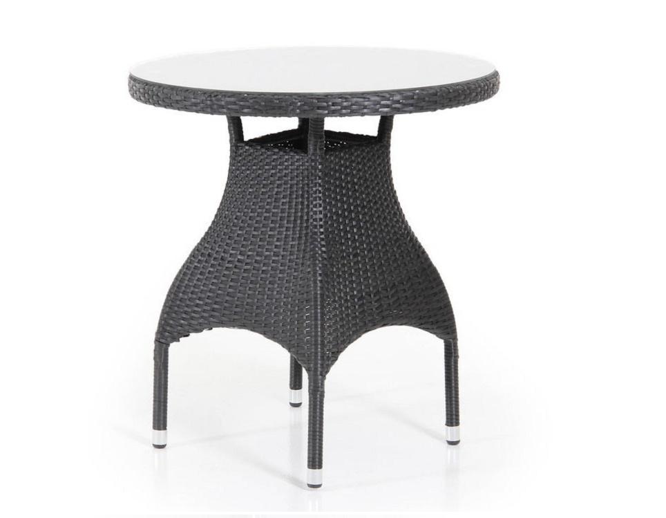 """Стол """"Ninja black"""" диаметр 60 см, цвет черный"""