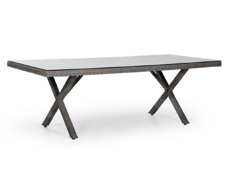"""Стол """"Ninja grey"""" 200х100 см, цвет серый"""