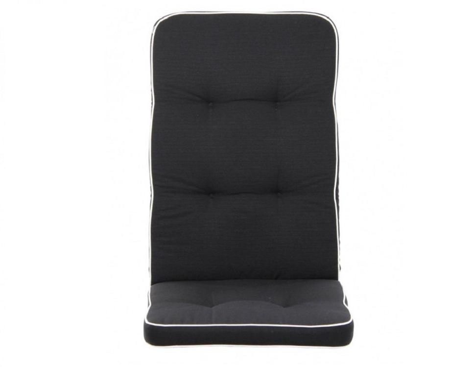 """Подушка на кресло """"Vigo"""", цвет черный."""