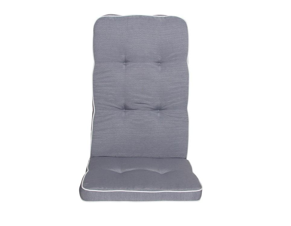 """Подушка на кресло """"Vigo"""", цвет серый."""