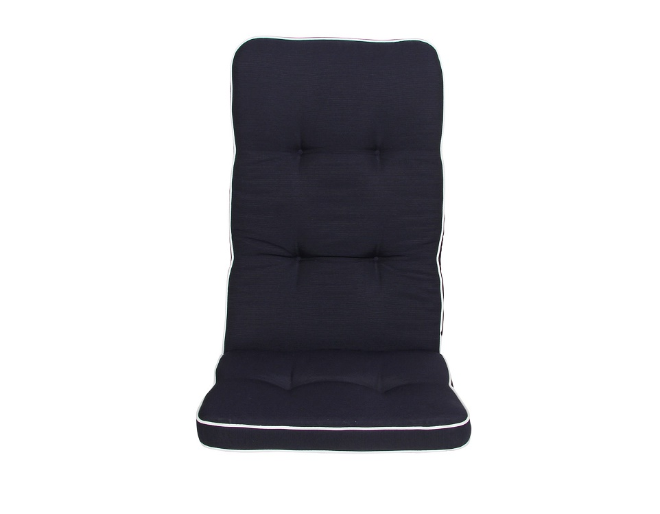 "Подушка на кресло ""Vigo"", цвет синий."