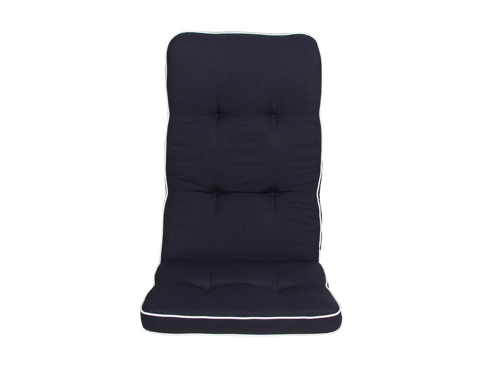 """Подушка на кресло """"Vigo wide"""", цвет антрацит."""