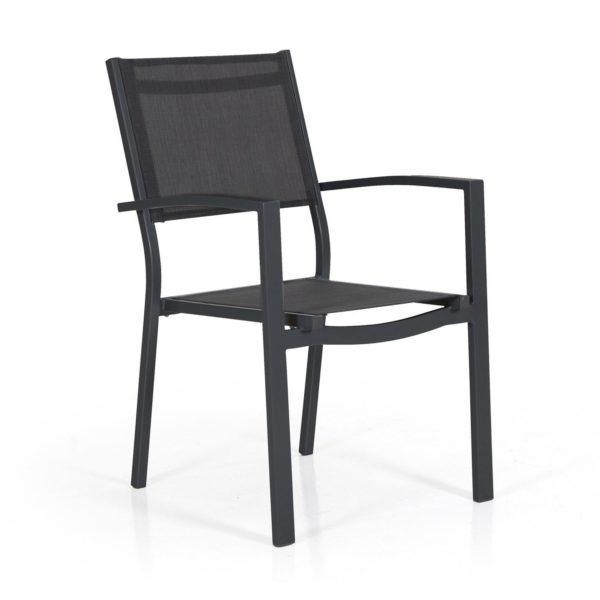 "Фото-Кресло из текстилена ""Leone"", цвет черный Brafab"