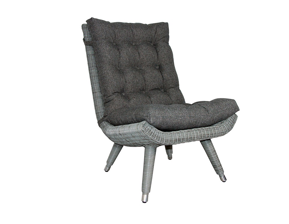 """Кресло """"Silva grey"""" без подлокотников"""