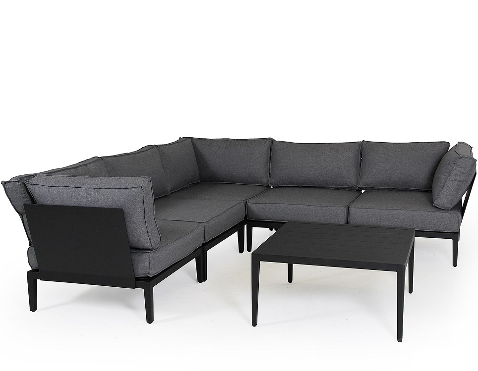 """Комплект мебели """"Mackenzie"""", цвет черный"""
