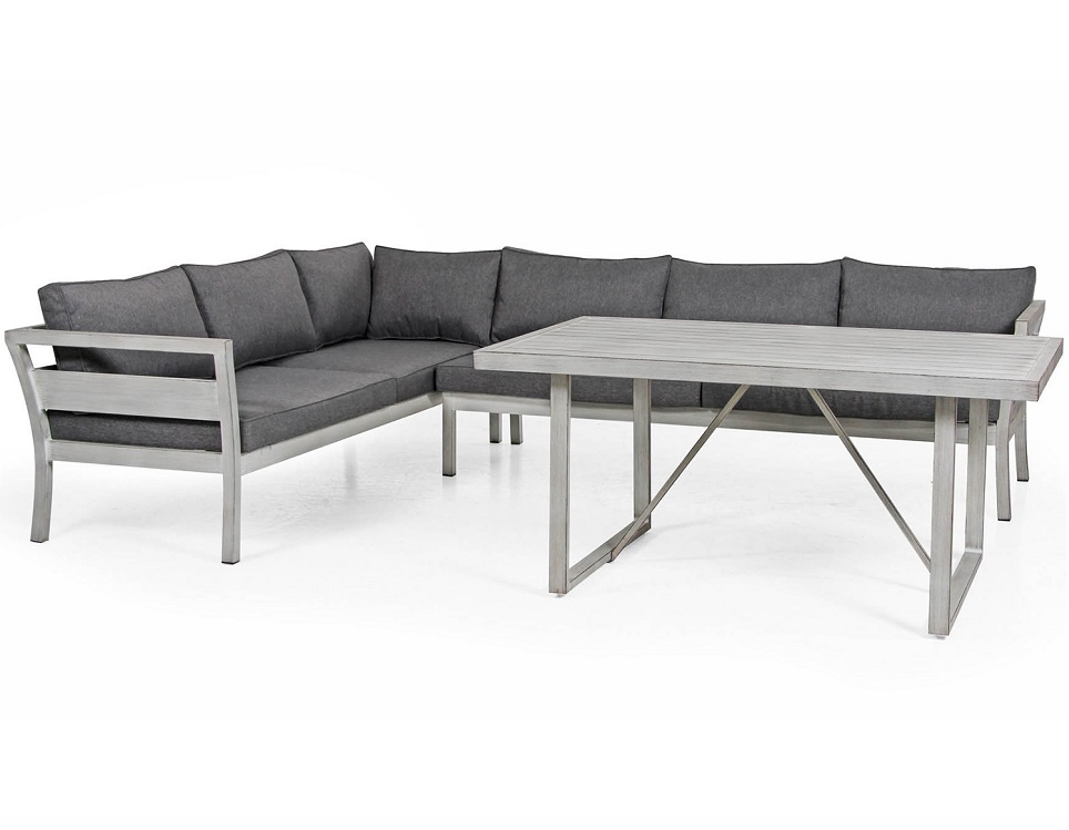 """Комплект мебели из алюминия """"Miribel"""""""