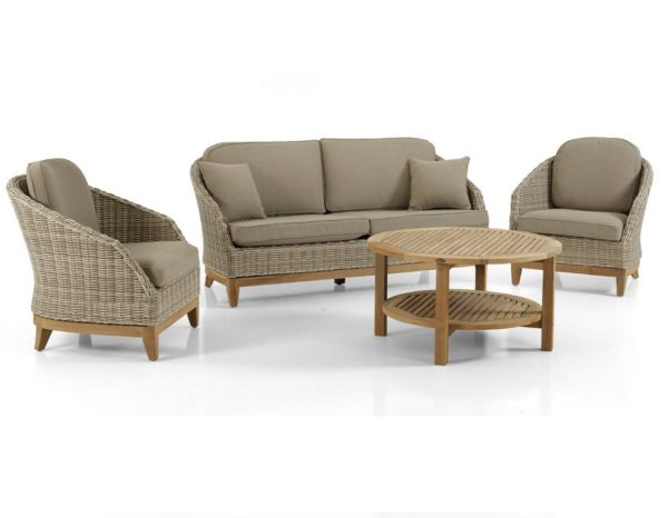 "Фото-Плетеная мебель ""Ontario"" lounge Brafab"