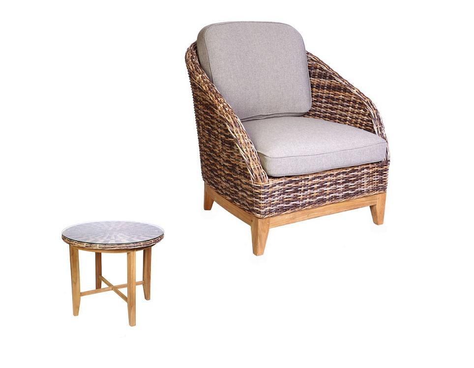 "Комплект плетеной мебели ""Ontario brown mix"""