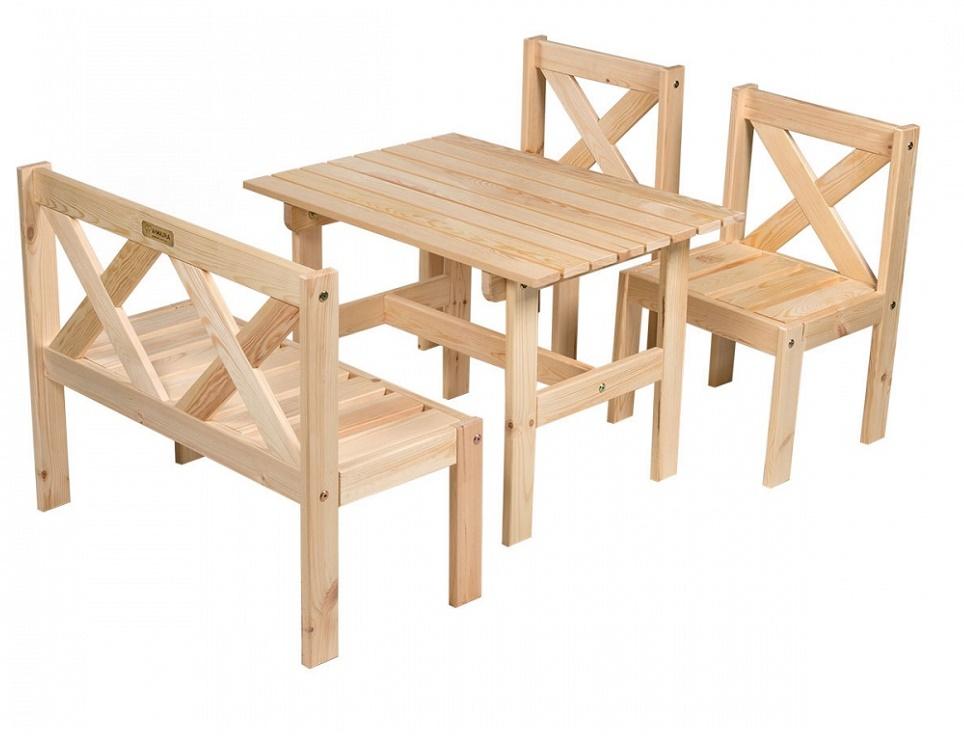 """Комплект мебели """"Milla"""", цвет натуральный"""