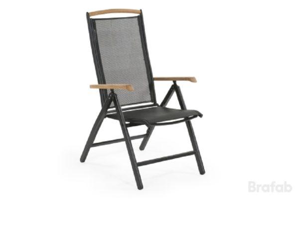 """Фото-Кресло из текстилена """"Andy"""" черный Brafab"""
