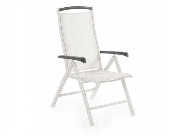 "Фото-Кресло из текстилена ""Andy"" белый/nonwood Brafab"