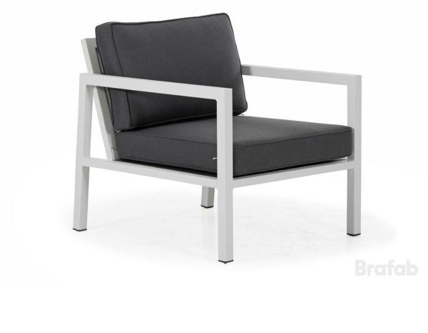 """Фото-Кресло садовое """"Belfort"""", цвет серый Brafab"""