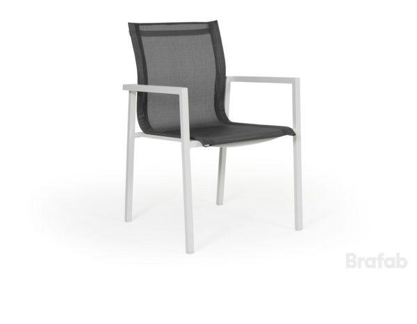 """Фото-Кресло из текстилена """"Belfort"""", цвет белый/серый Brafab"""