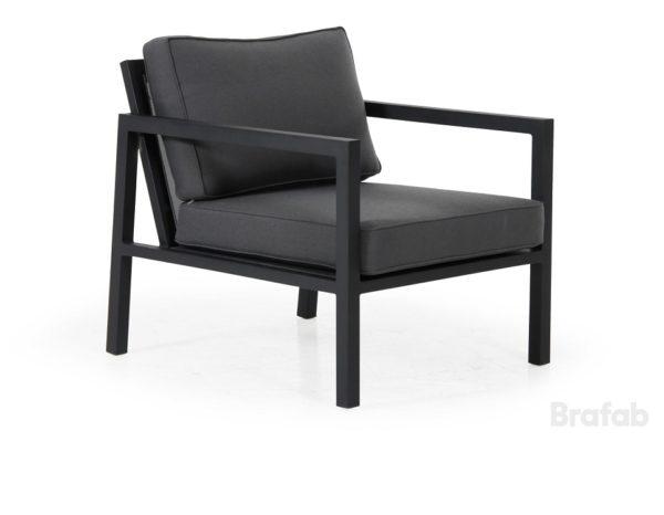"""Фото-Кресло садовое """"Belfort"""", цвет черный Brafab"""