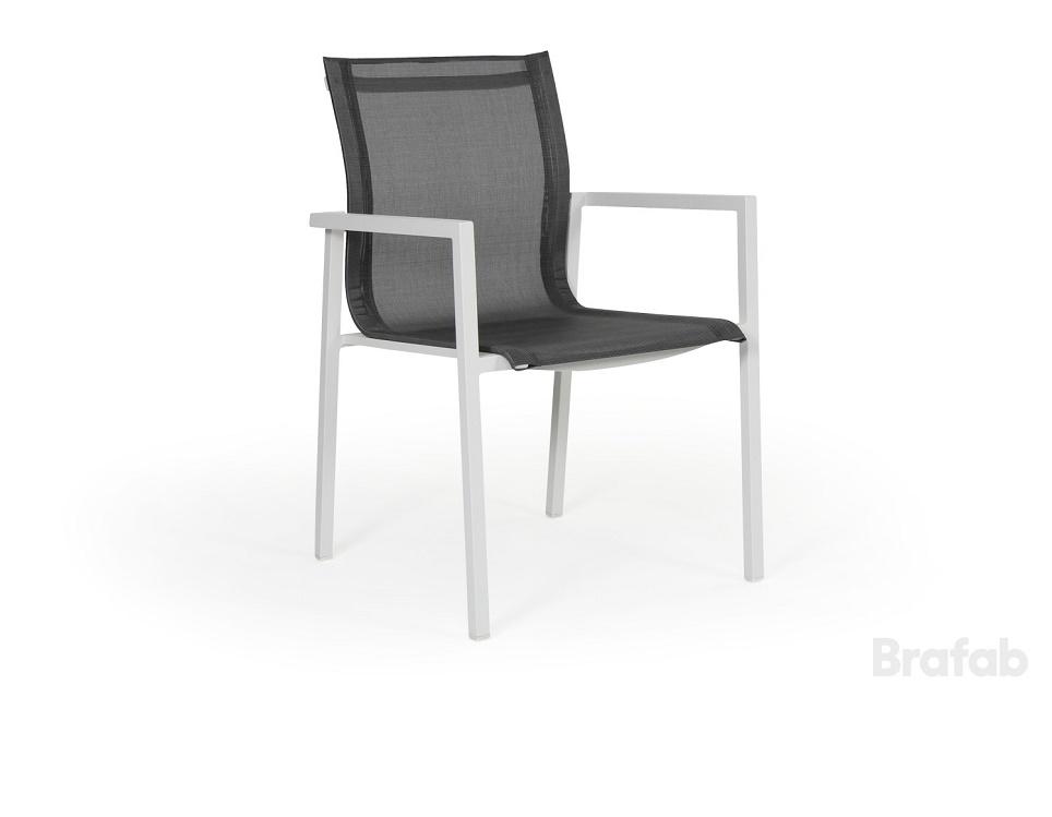 "Кресло ""Belfort"", цвет белый/серый"