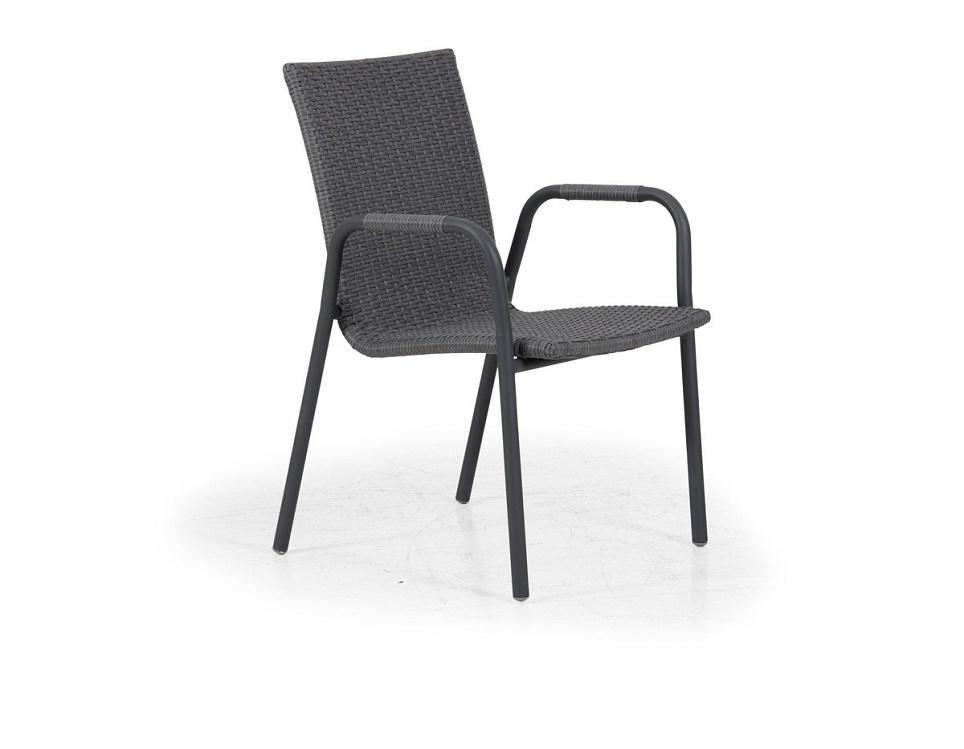 "Кресло ""Carnac"", цвет антрацит/серый"
