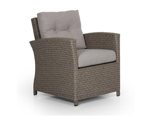 """Фото-Кресло из искусственного ротанга """"Soho beige"""" Brafab"""