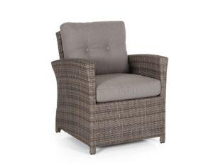 """Фото-Кресло из искусственного ротанга """"Soho brown"""" Brafab"""
