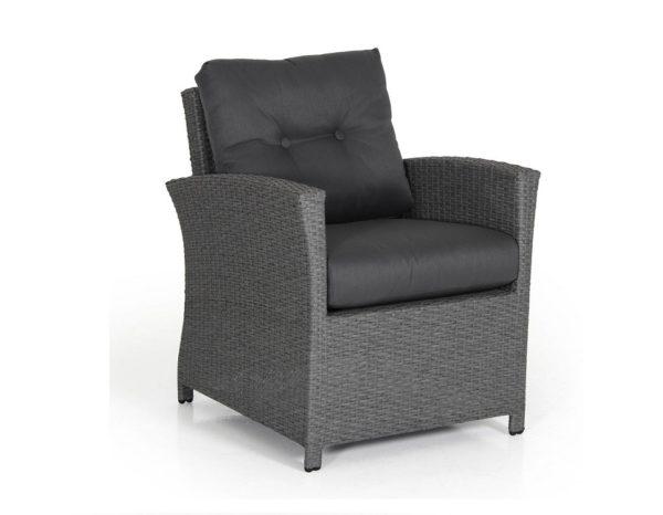 """Фото-Кресло из искусственного ротанга """"Soho grey"""" Brafab"""