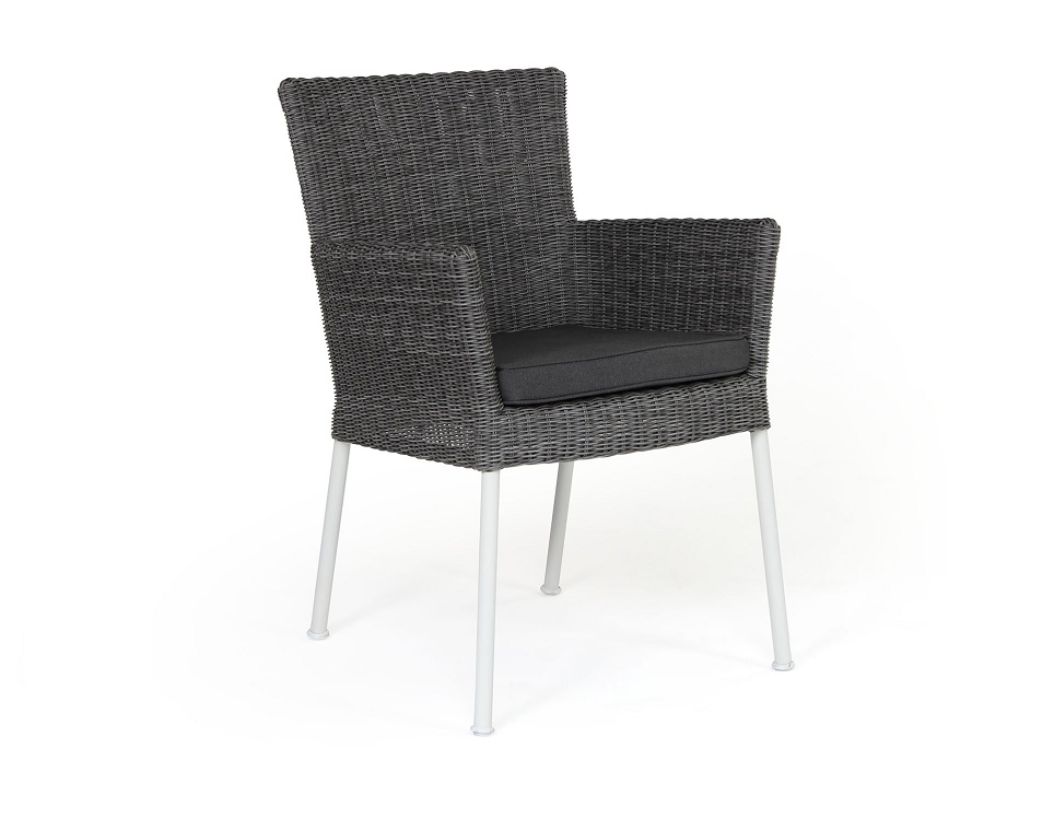 "Кресло ""Somerset"", цвет серый/белый"