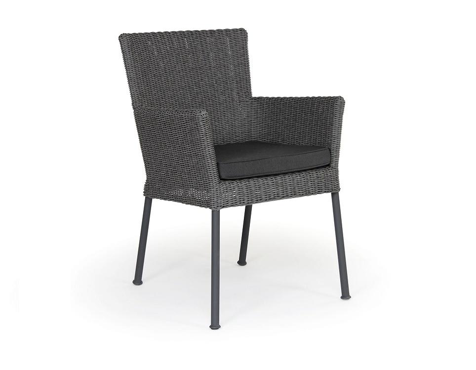 "Кресло ""Somerset"", цвет антрацит/серый"