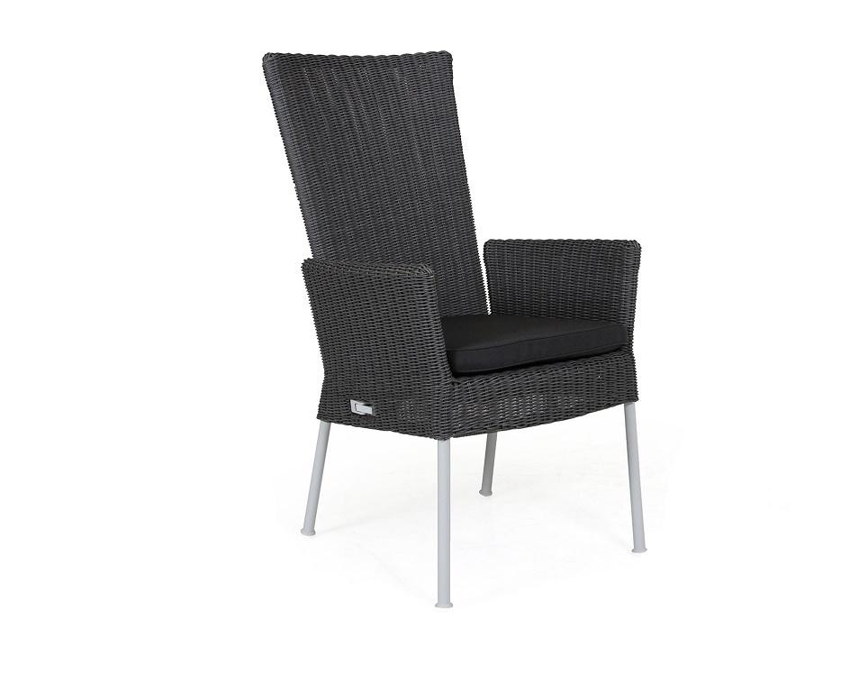 """Кресло """"Somerset"""" регулируемое, цвет серый/белый"""