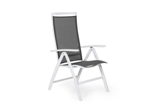 """Фото-Кресло садовое """"Sunny"""", цвет белый/серый Brafab"""