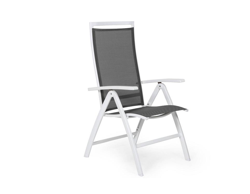 "Кресло ""Sunny"", цвет белый/серый"