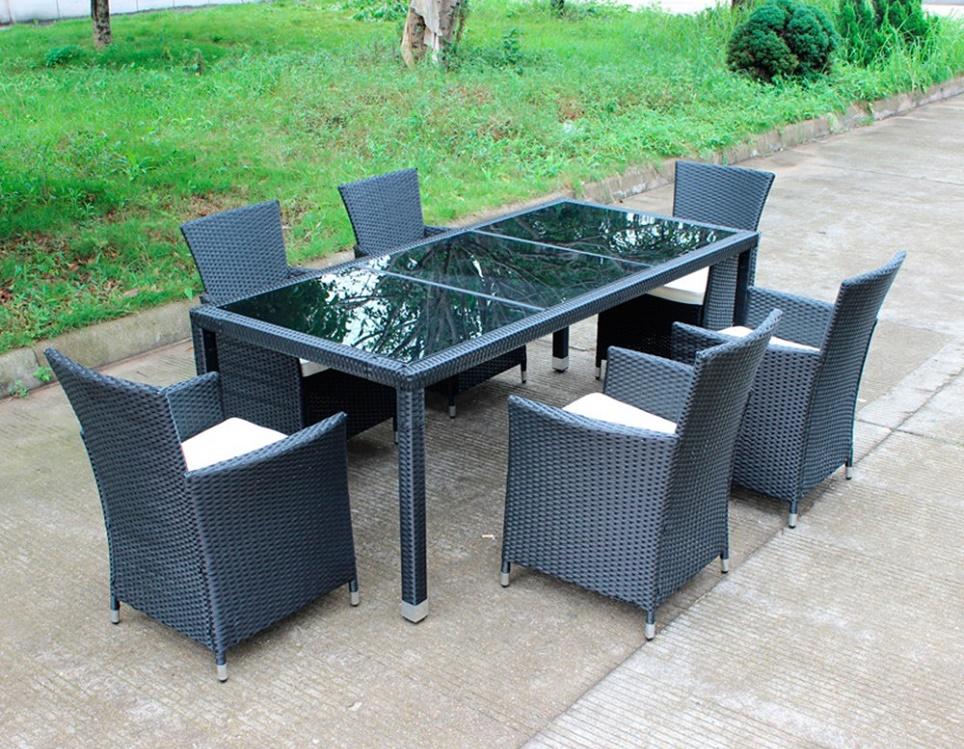 """Комплект плетеной мебели """"Калипсо lounge"""", цвет черный"""