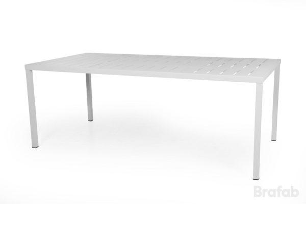 Фото-Стол садовый алюминиевый Belfort 200 белый
