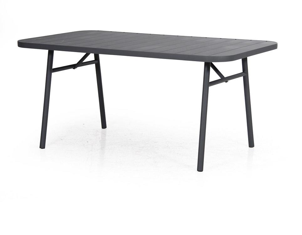 """Стол """"Carnac"""", 162х90 см, цвет антрацит"""