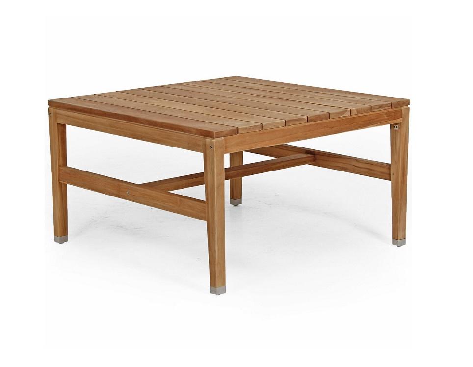 """Стол из тика """"Elati"""", 90x90 см"""