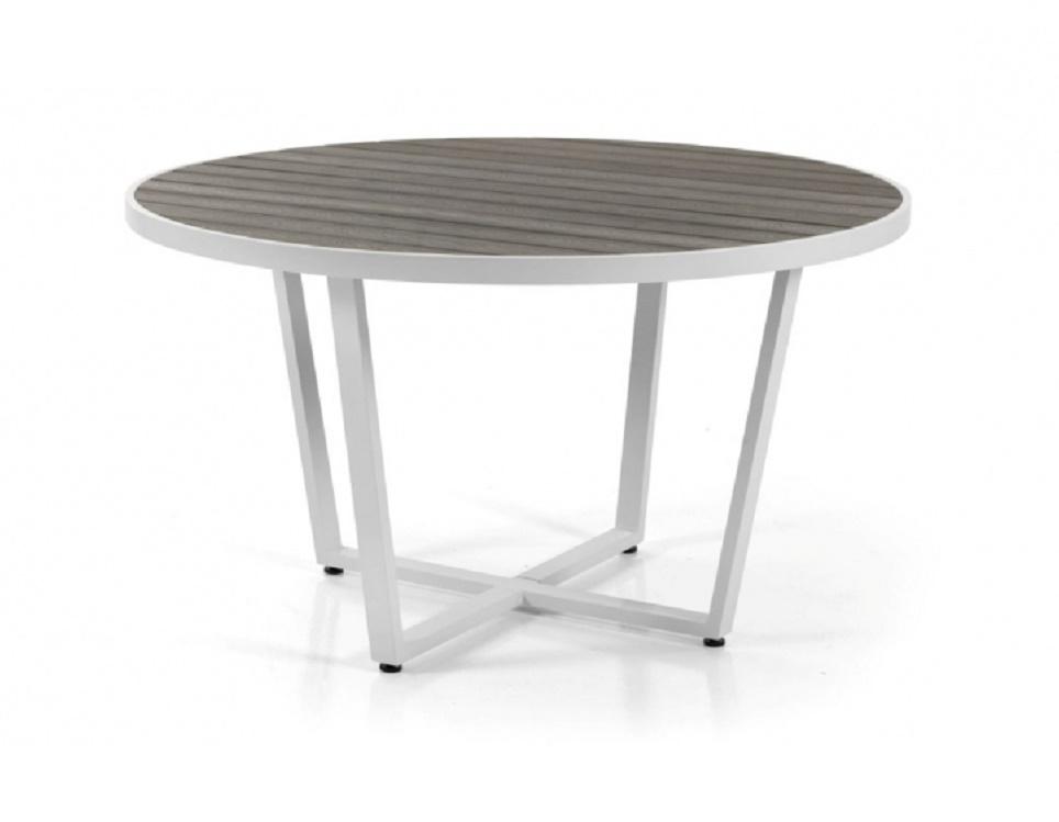 """Стол """"Leone"""" диаметр 130 см, цвет белый"""