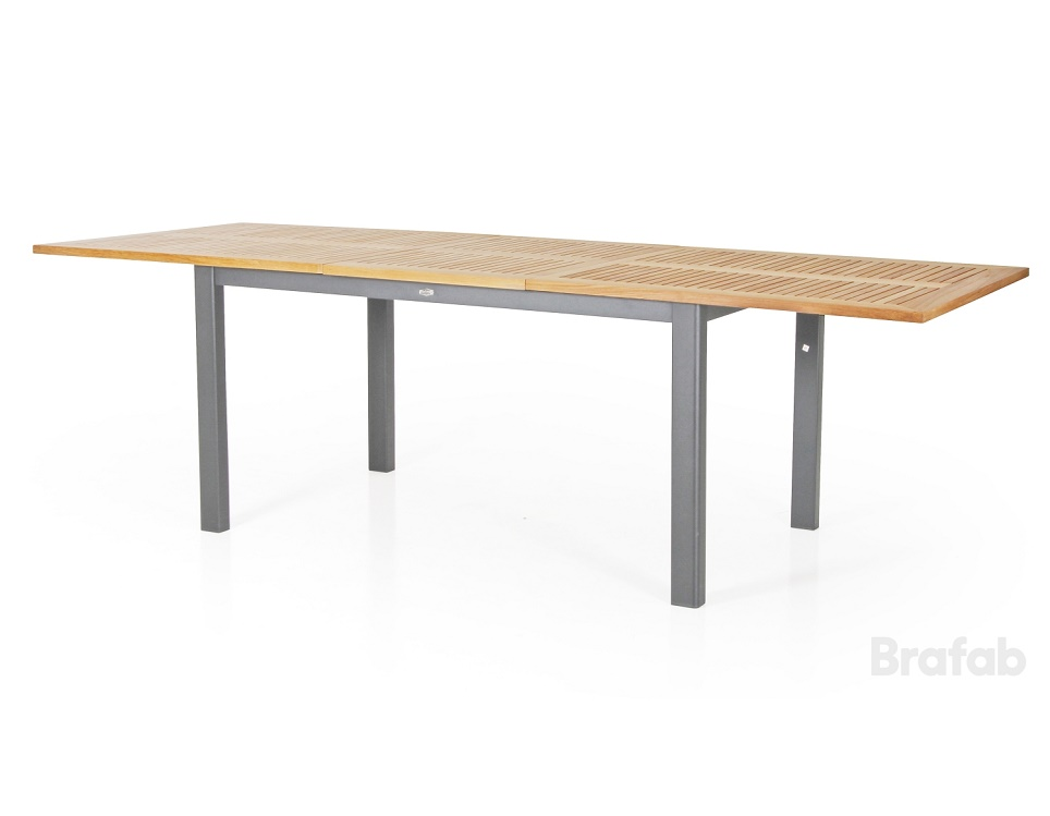 """Стол раздвижной """"Lyon"""" 194/252 см, цвет серый"""
