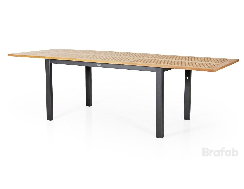 """Стол раздвижной """"Lyon"""" 194/252 см, цвет черный"""