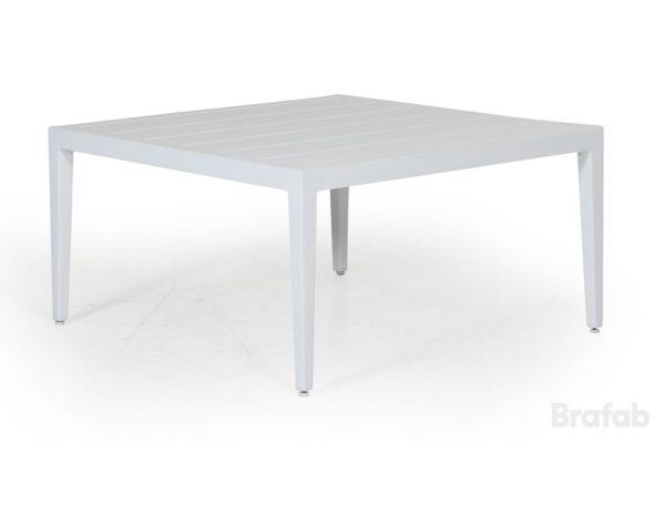 "Фото-Стол садовый ""Mackenzie"" 77х77 см, цвет белый Brafab"