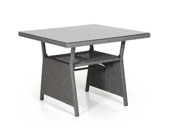 Фото-Стол плетеный обеденный Soho grey 86 Brafab