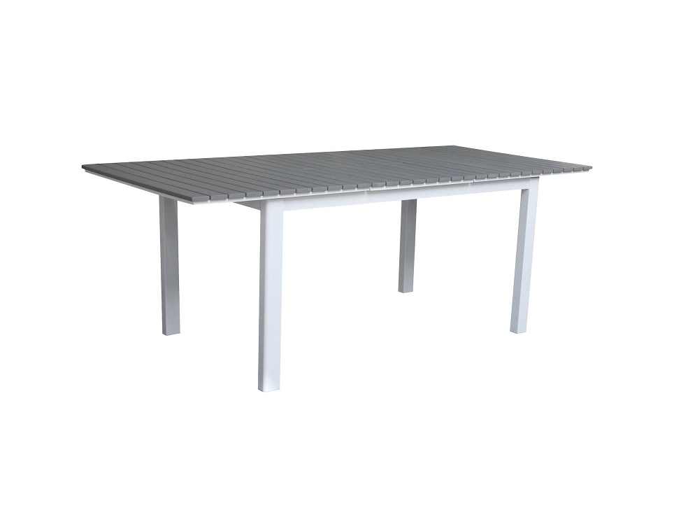 """Стол раздвижной """"Tilos"""" 154/210 см, цвет белый"""
