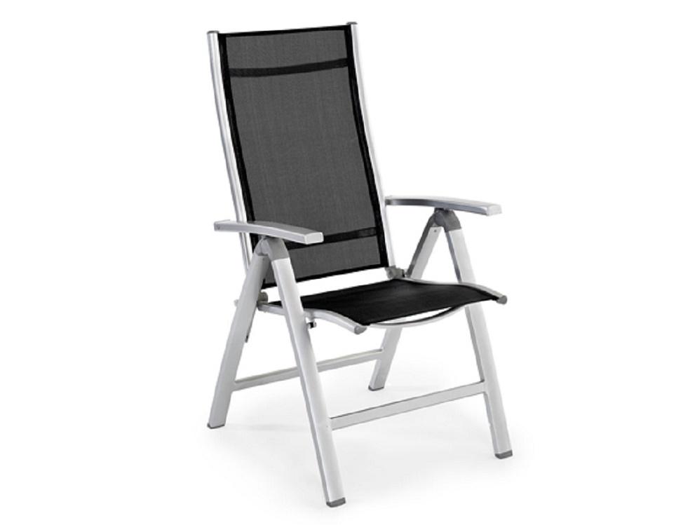 """Кресло регулируемое """"Lukas"""", цвет серый/черный"""