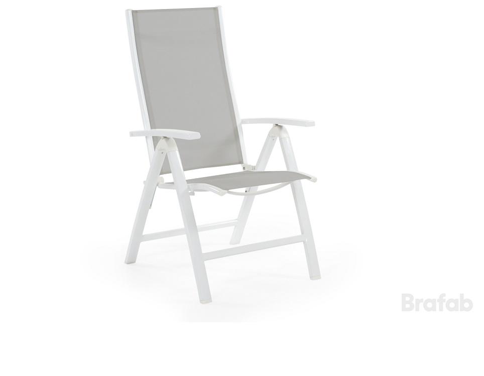 """Кресло регулируемое """"Lukas"""", цвет белый/серый"""
